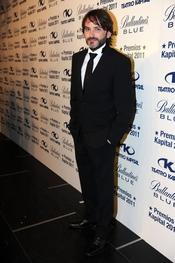 Fernando Tejero posa a su llegada a los Premios Kapital 2011