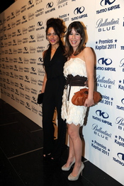 Patricia Perez y Celia Montalban en los Premios Kapital 2011