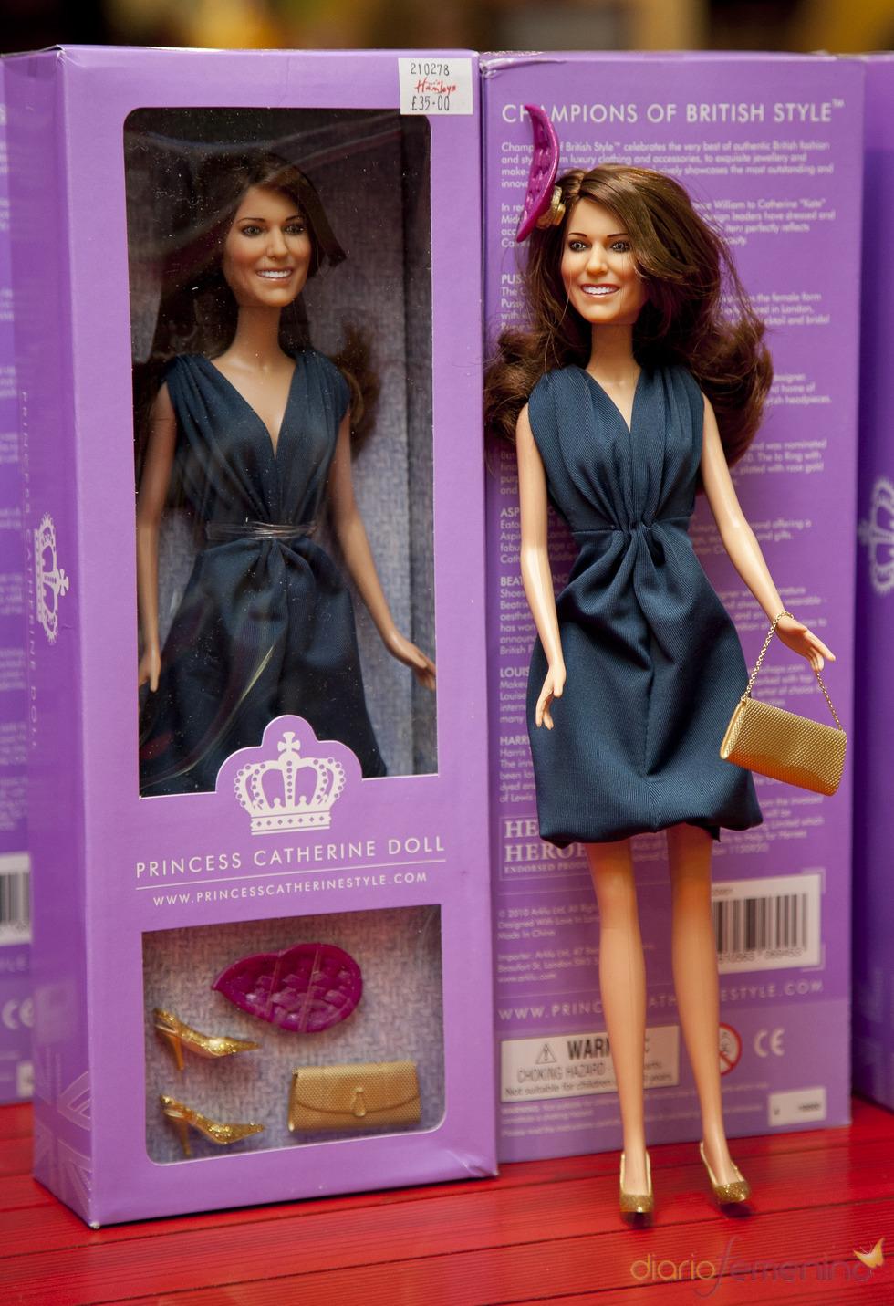 Kate Middleton ya tiene su muñeca Princesa Catherine