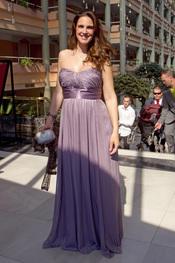 Nuria Fergó en la boda de Chayo Mohedano y Andrés