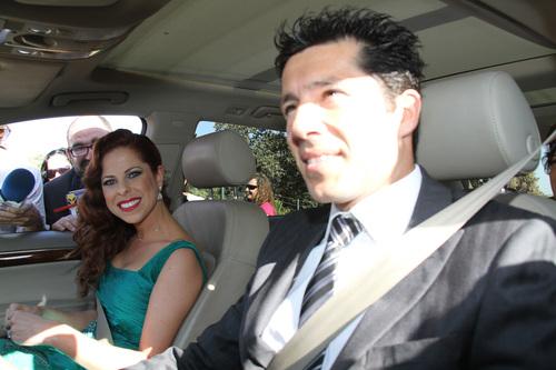 Pastora Soler llega a la boda de Chayo Mohedano y Andrés