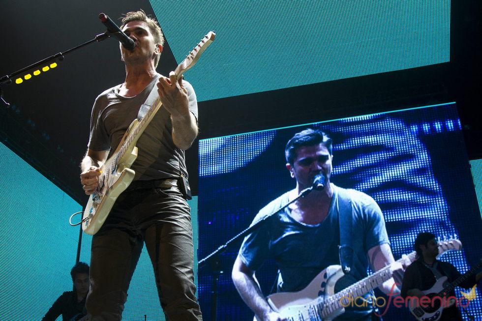 Juanes durante su concierto en Nueva York