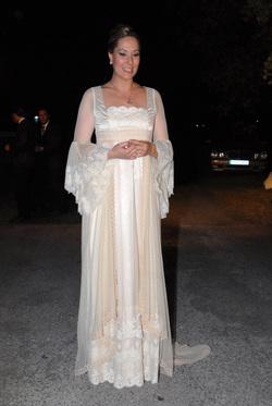 El segundo vestido de novia de Chayo Mohedano