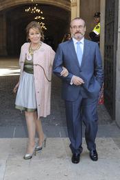 Mila Ximénez en la otra boda de la semana: Óscar Cornejo y Jaume Collboni