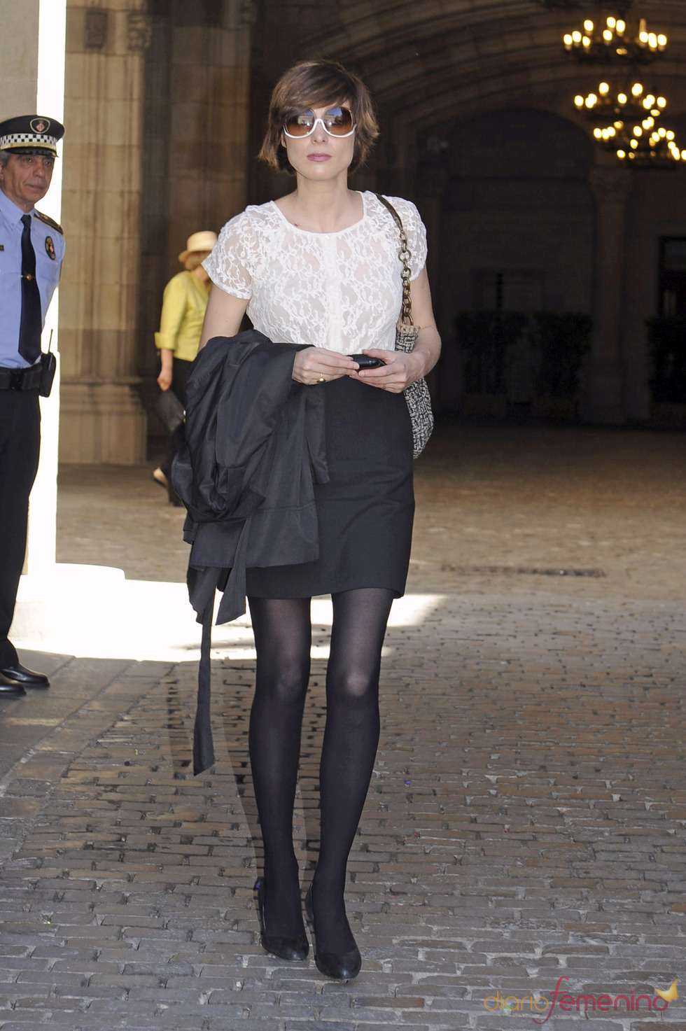 Sandra Barneda en la otra boda de la semana: Óscar Cornejo y Jaume Collboni
