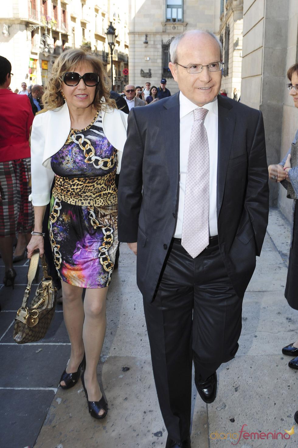 José Montilla en la otra boda de la semana: Óscar Cornejo y Jaume Collboni
