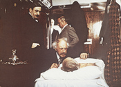 Fotograma de 'Asesinato en el Orient Express', de Sidney Lumet