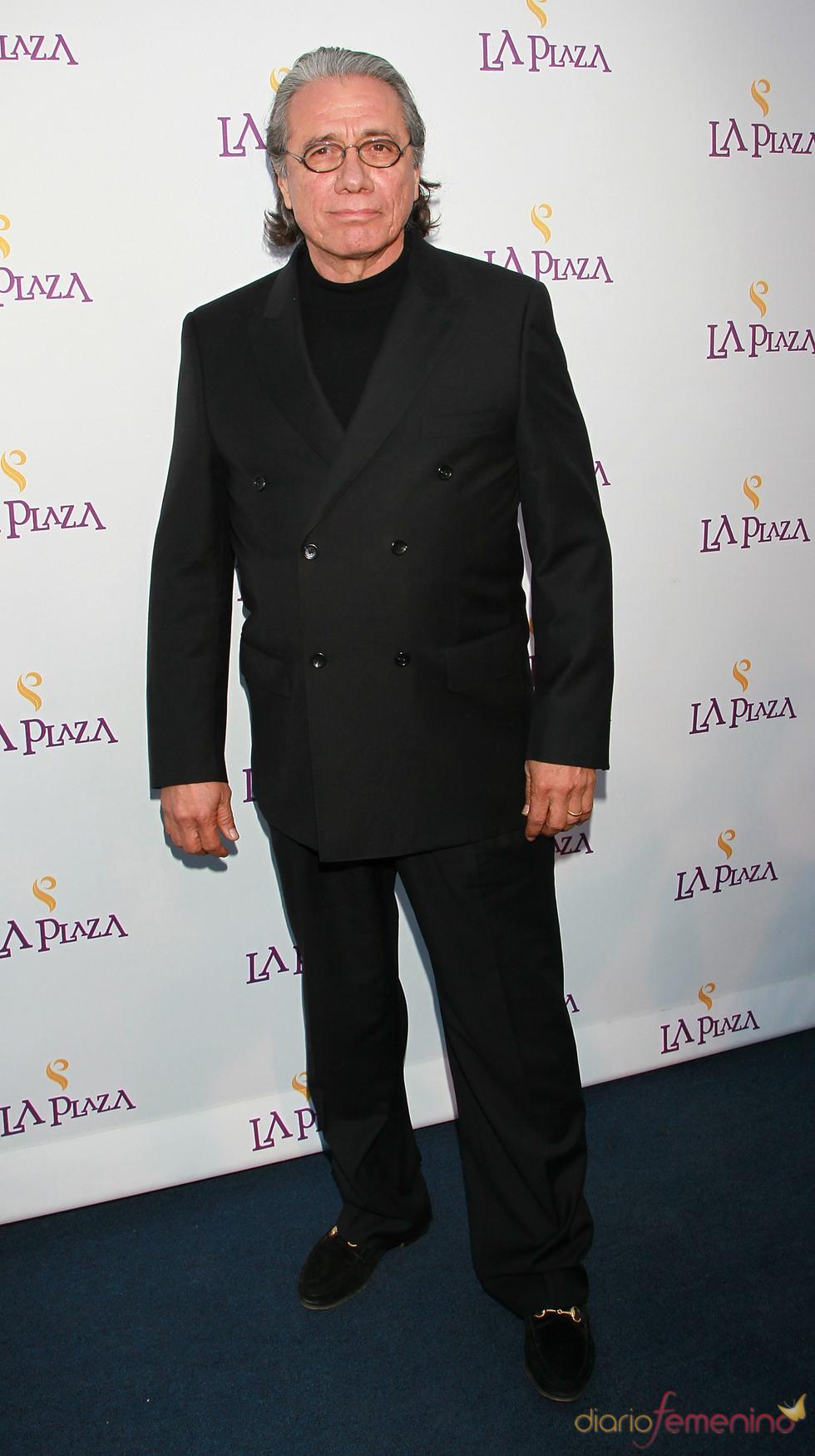 El actor Edward James Olmos en la Gala Inaugural de la Plaza de la Cultura y las Artes