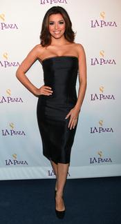 Eva Longoria en la Gala Inaugural de la Plaza de la Cultura y las Artes