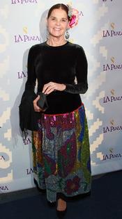 La actriz Ali MacGraw en la Gala Inaugural de la Plaza de la Cultura y las Artes