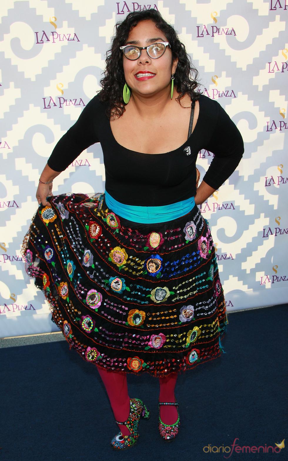 La cantante Marisol Hernandez en la Gala Inaugural de la Plaza de la Cultura y las Artes