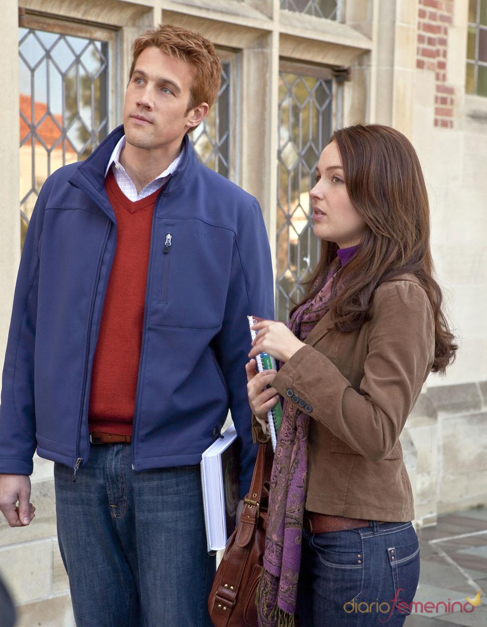 Camilla Luddignton y Nico Evers-Swindell , actores del biopic Will & Kate
