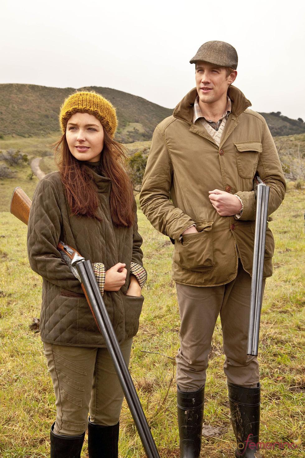 Escena de caza del biopic Will & Kate