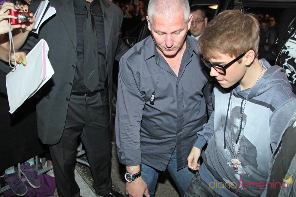 Justin Bieber se encuentra con Dolce & Gabbana  en Milán