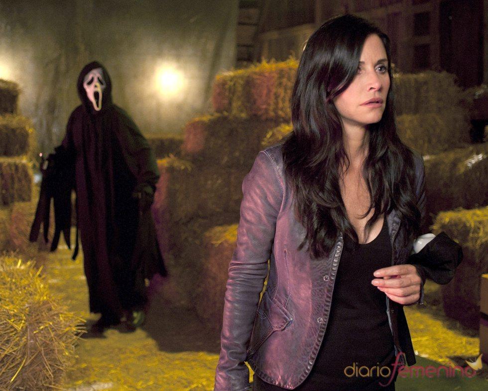 Courteney Cox vuelve a la gran pantalla con 'Scream 4'