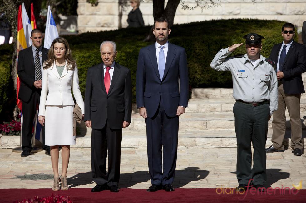 Visita oficial de los Príncipes de Asturias a Israel