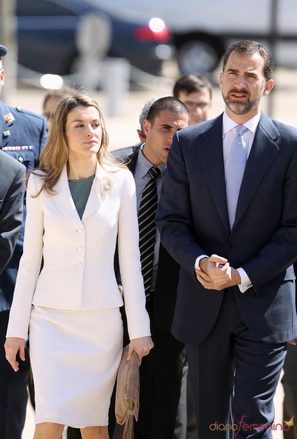 Los Príncipes de Asturias visitan el Museo histórico del Holocausto de Jesuralen