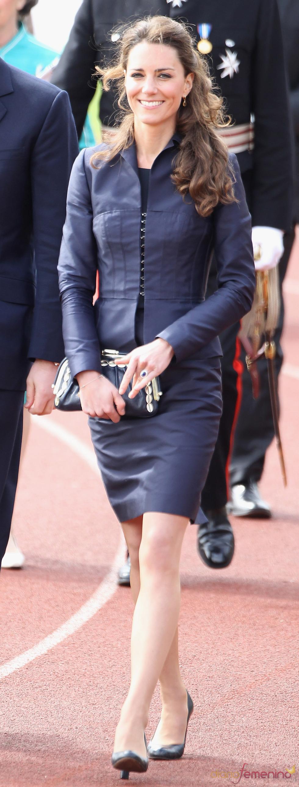 Último acto de Kate Middleton como soltera