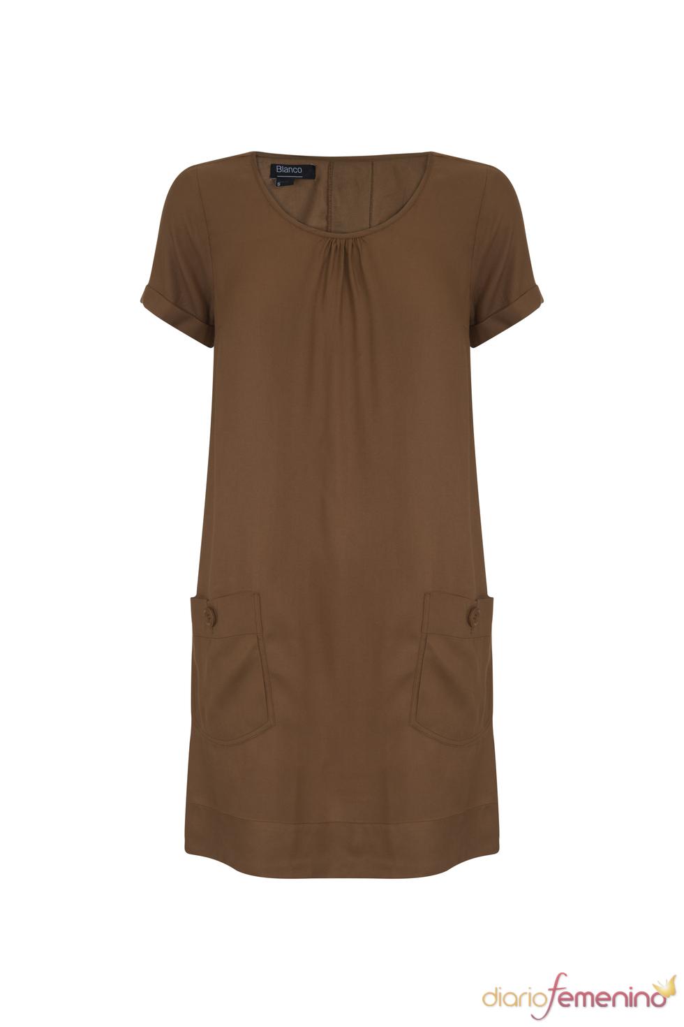 Vestido túnica de la colección primavera 2011 de Blanco