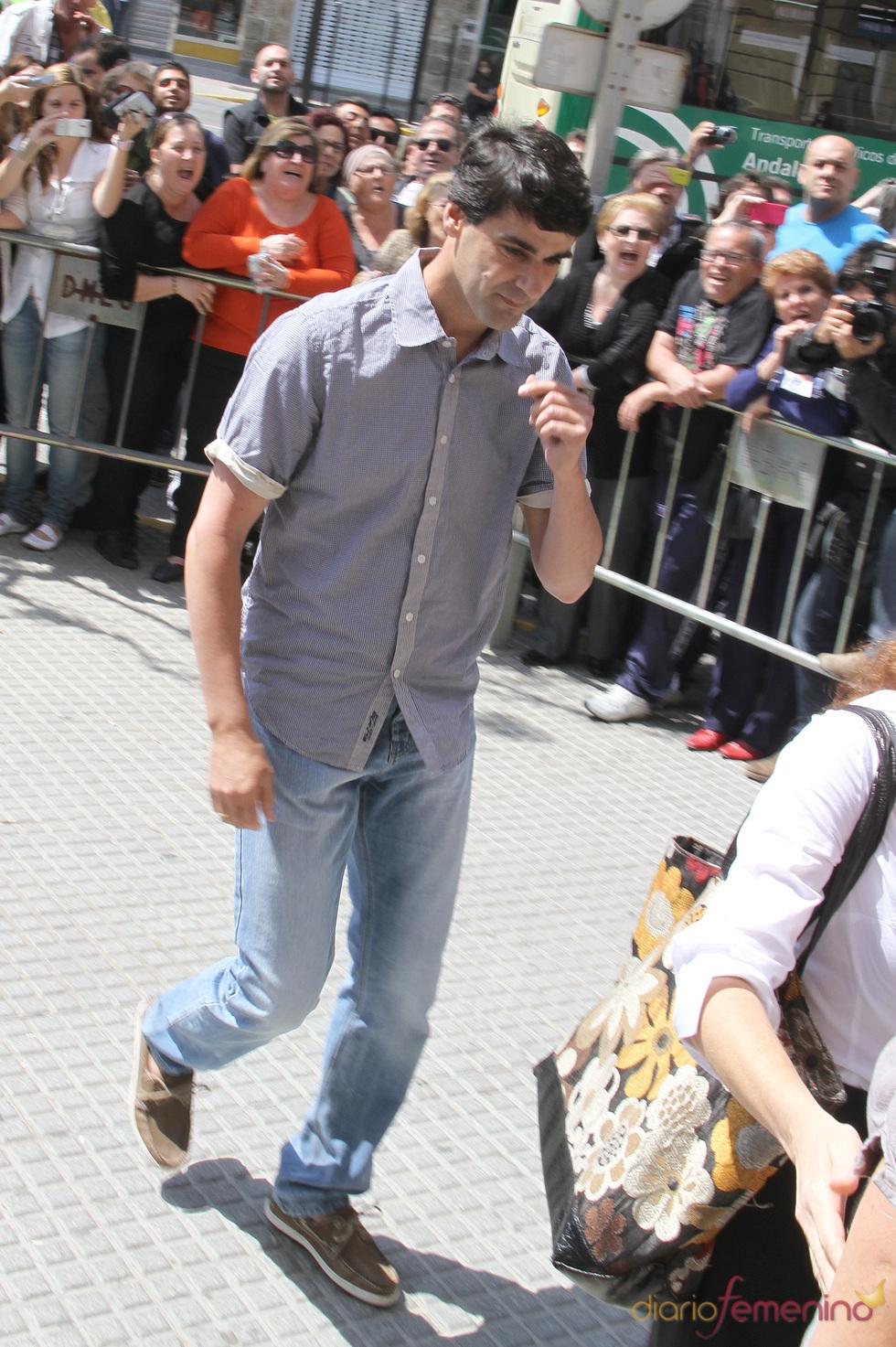 Jesulín de Ubrique llega a la Audiencia Provincial de Cádiz