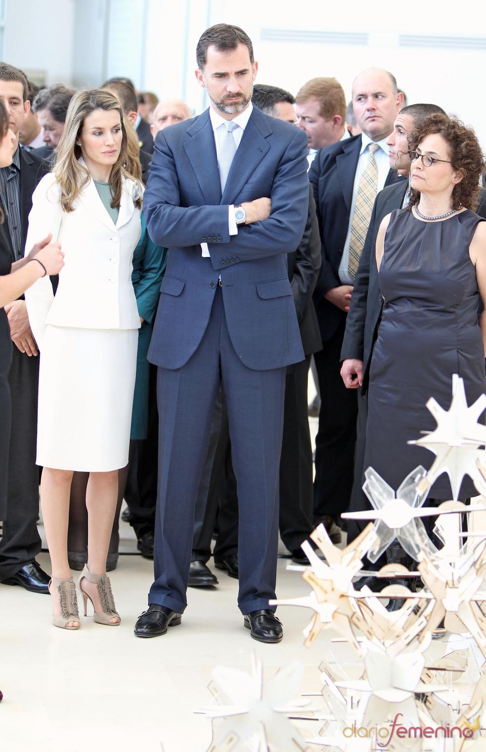 Los Príncipes de Asturias visitan el Museo de Tel Aviv