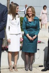 La Princesa Letizia y Trinidad Jiménez en Israel
