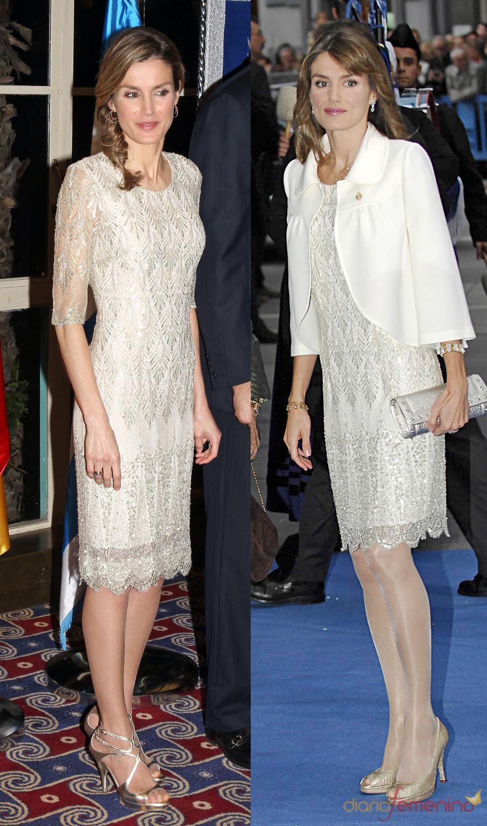 letizia vestido:
