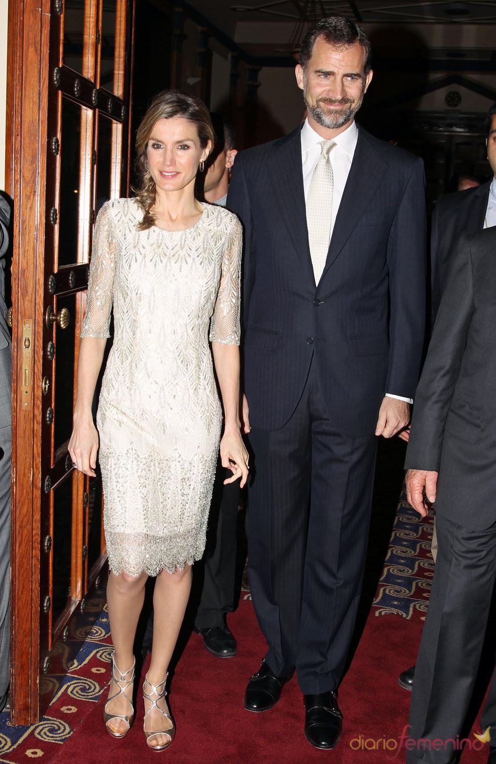 Cena en honor de los Príncipes Felipe y Letizia en Israel