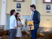Pau Gasol en su cameo para la telenovela 'Eva Luna'