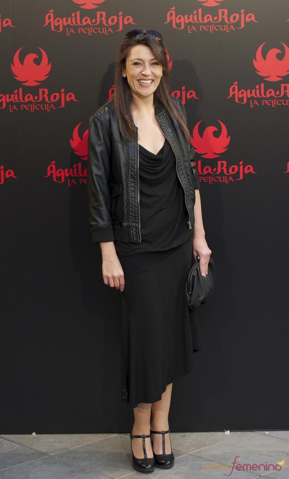 Pepa Aniorte en la presentación de 'Águila Roja, la película'