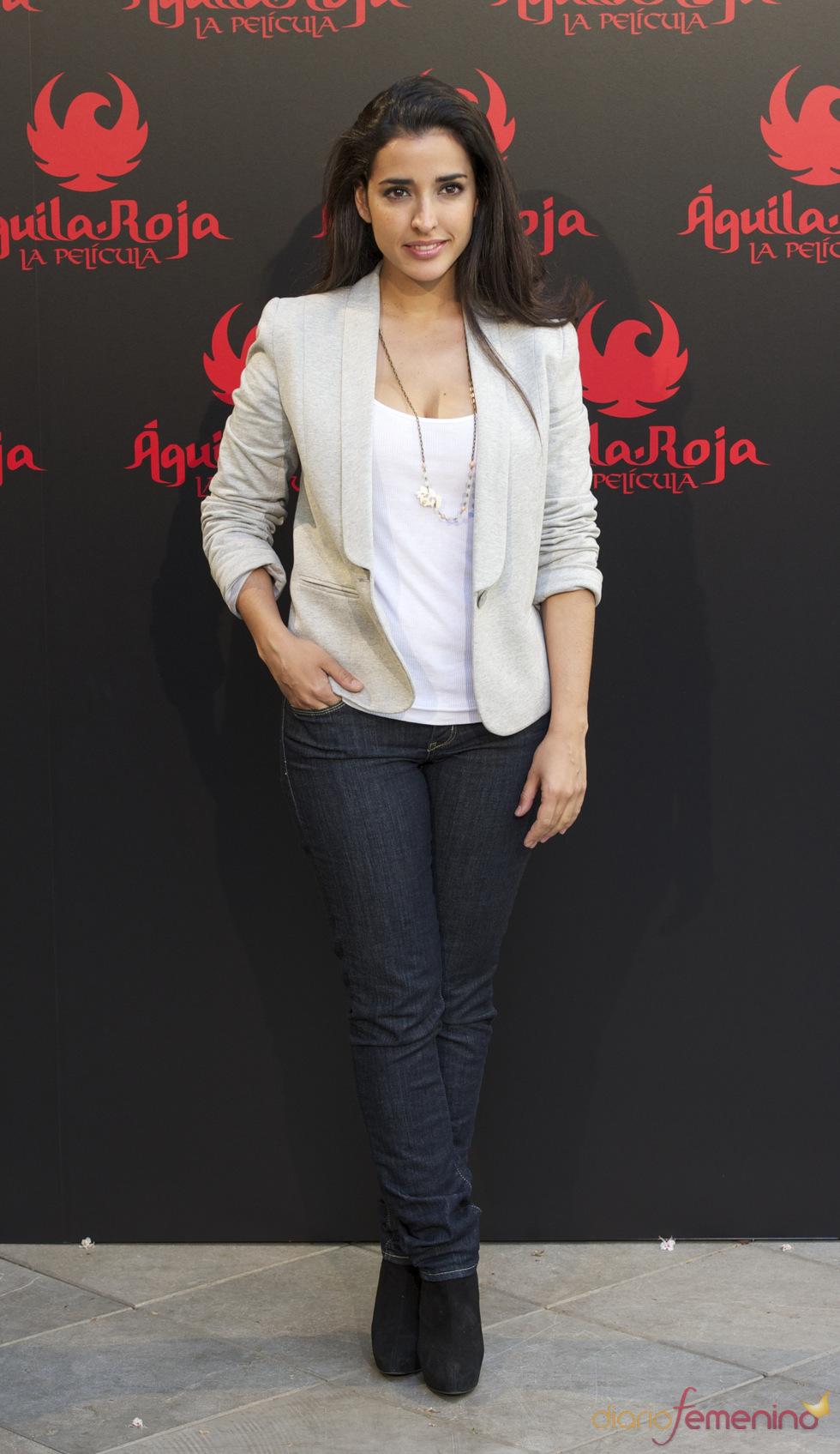Inma Cuesta en la presentación de 'Águila Roja, la película'