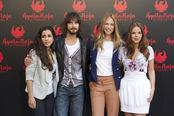 Inma Cuesta, David Janer, Martina Klein y Miryam Gallego en la presentación de 'Águila Roja, la película'