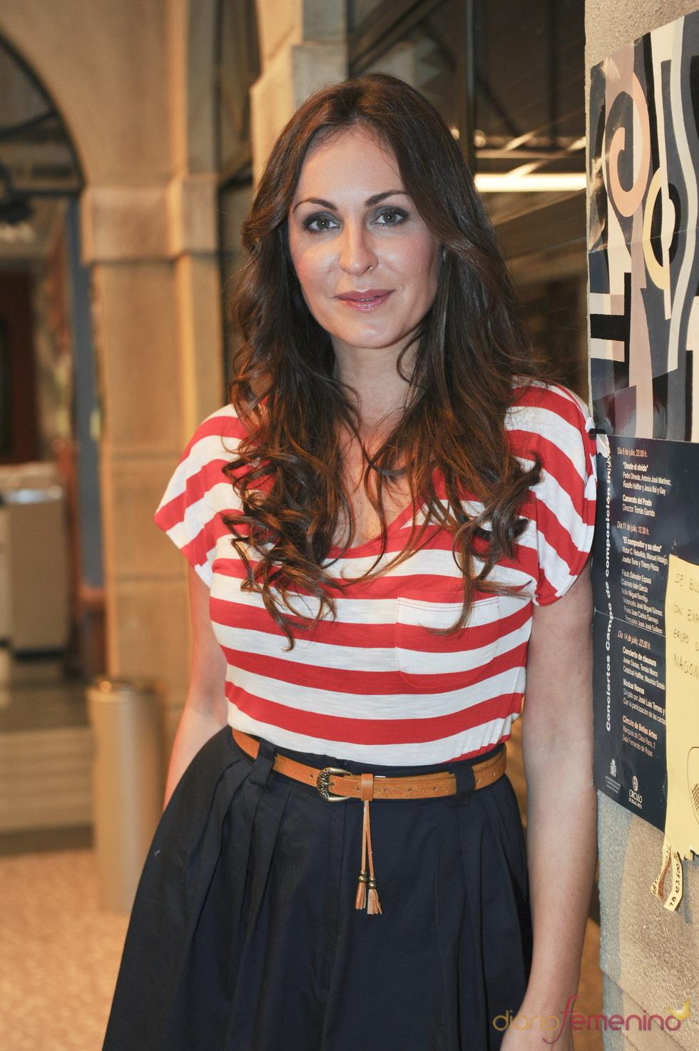 Ana Milan en la presentación de la séptima temporada de 'Física o química'