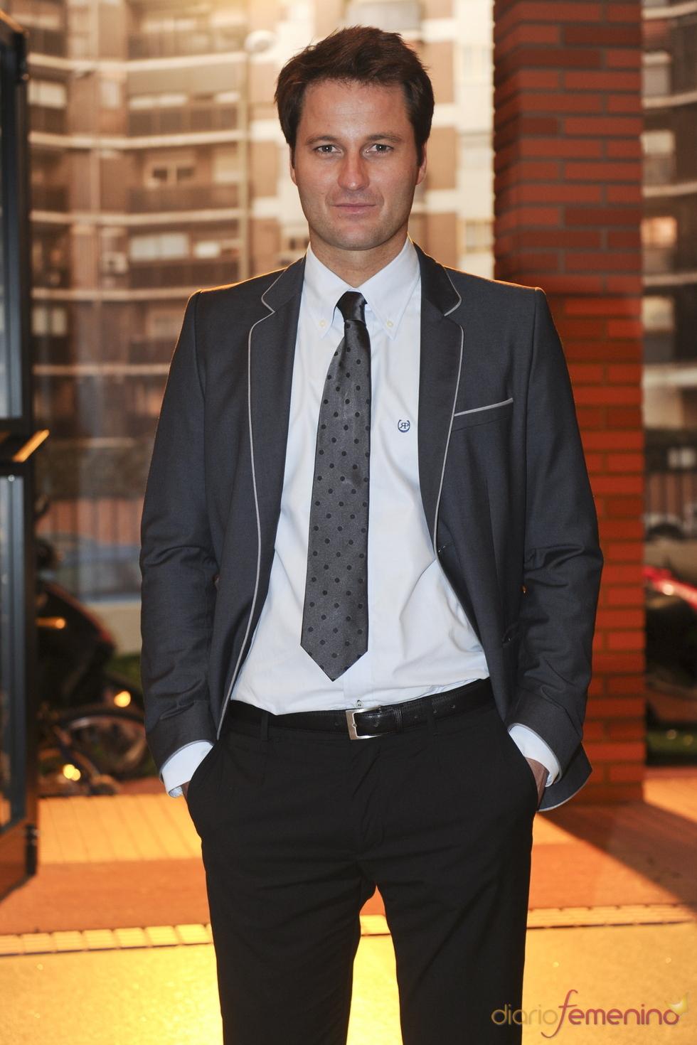 Fernando Andina en la presentación de la séptima temporada de 'Física o química'