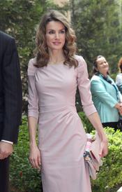 La Princesa Letizia a su llegada a Jordania