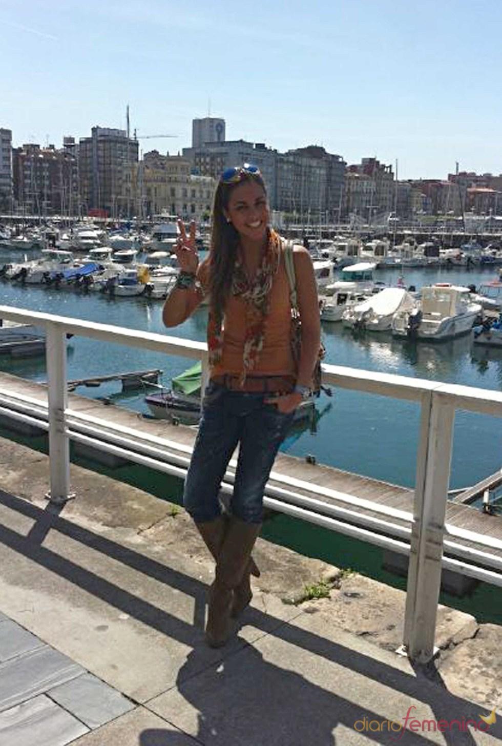 Lara Álvarez, muy sonriente tras su ruptura con Sergio Ramos