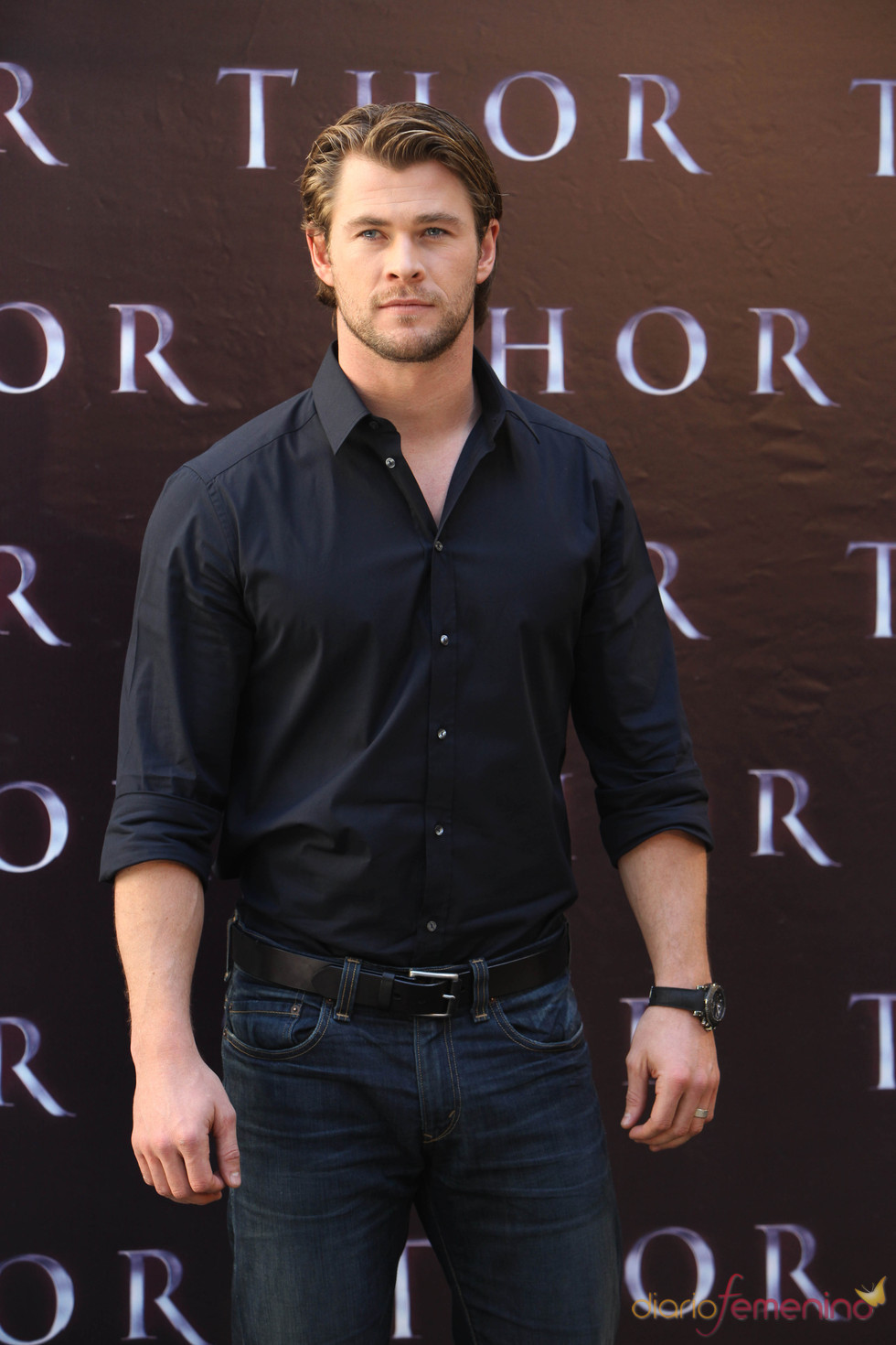 Chris Hemsworth presenta en España 'Thor'