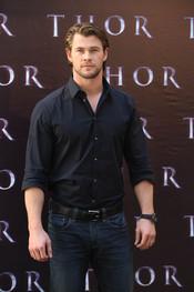 Chris Hemsworth presenta en España 'Thor'