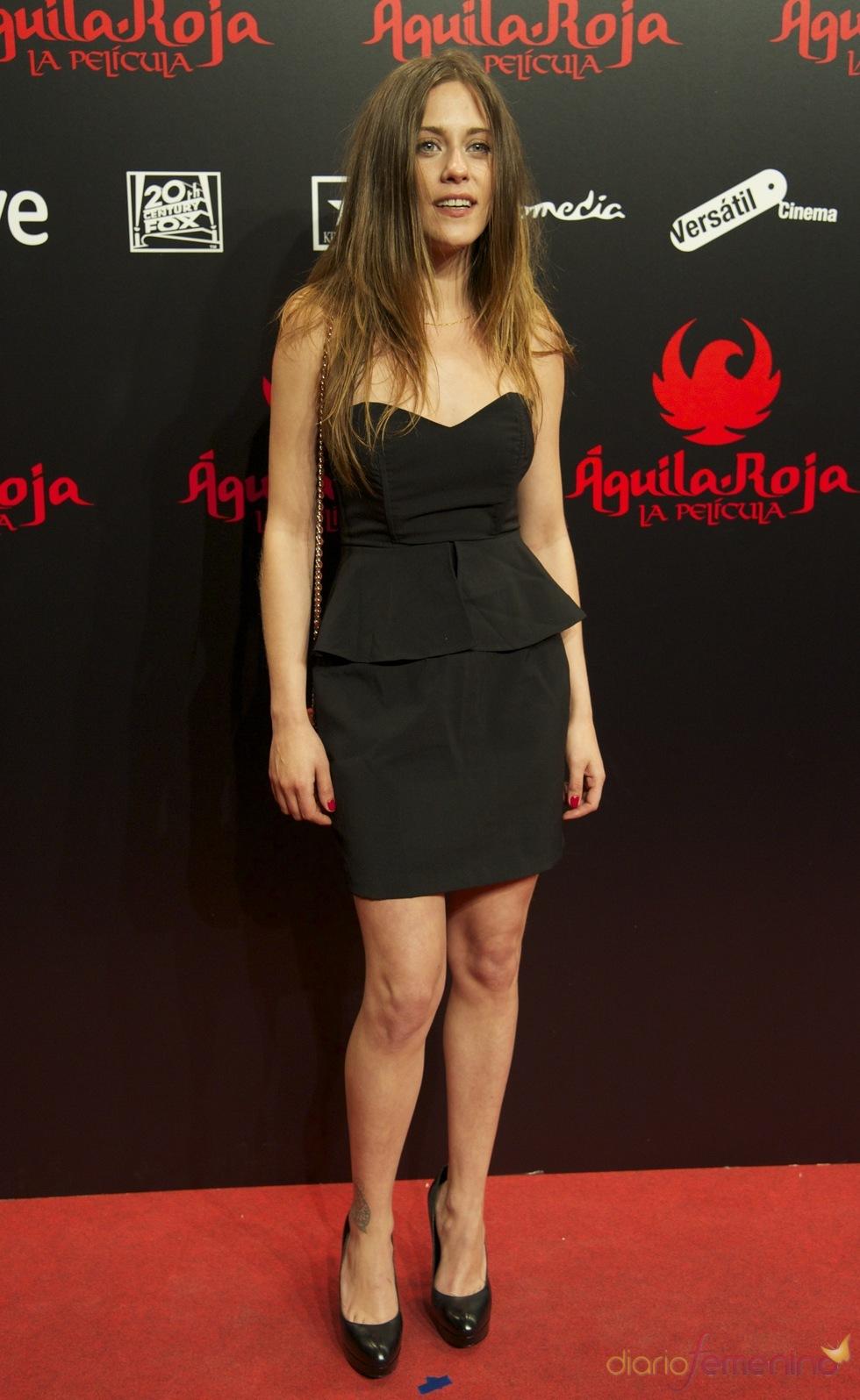 María León en el estreno de 'Águila Roja'