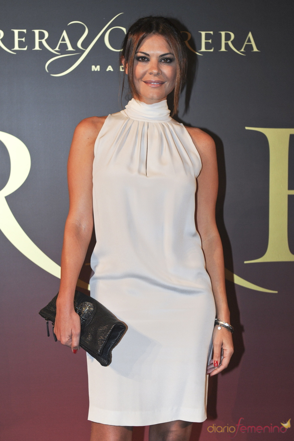 María José Suárez en el 'Premio Maja de los Goya de Carrera y Carrera'