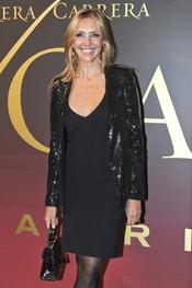Marta Robles en el 'Premio Maja de los Goya de Carrera y Carrera'