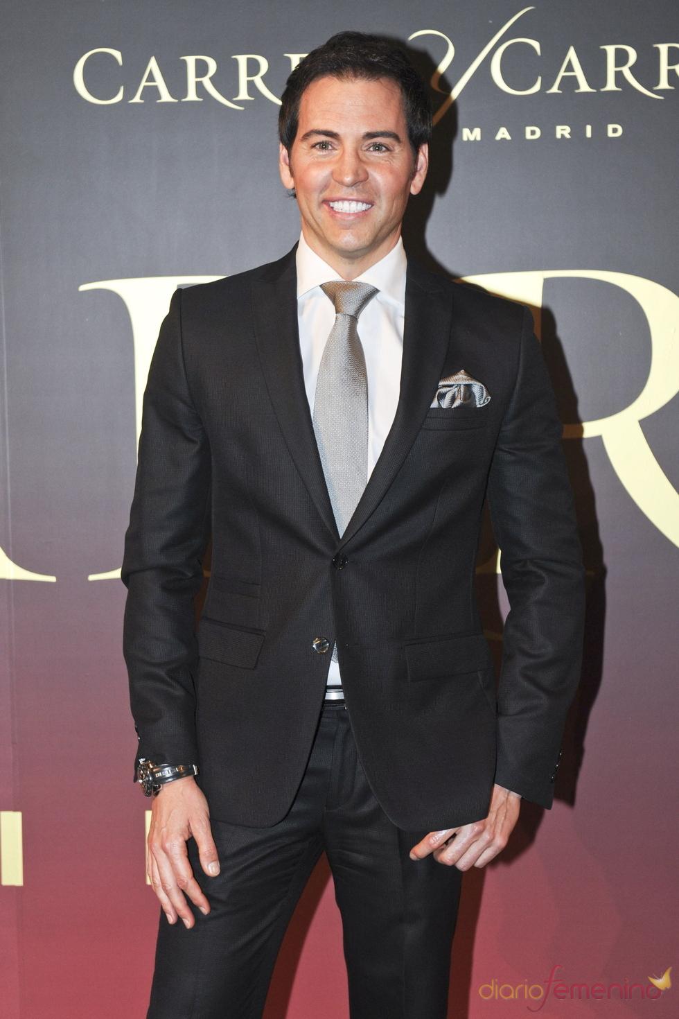 David Meca en el 'Premio Maja de los Goya de Carrera y Carrera'