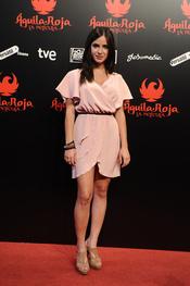 Paula Prendes en la premiere de 'Águila Roja'