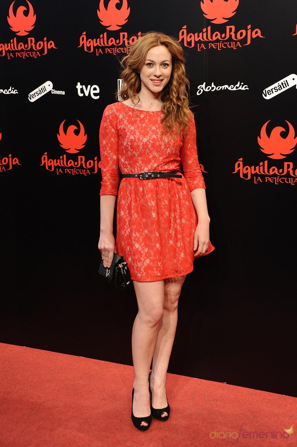 Marta Hazas en la premiere de 'Águila Roja'