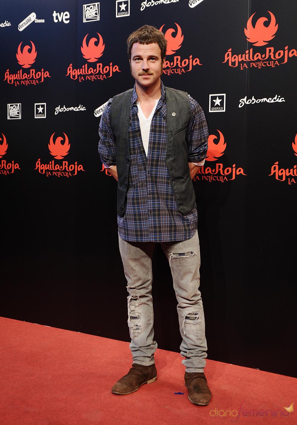 Carlos Francino en la premiere de 'Águila Roja'