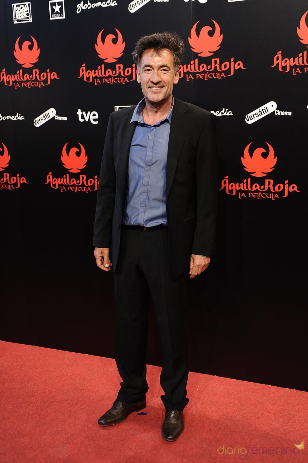 Francis Lorenzo en la premiere en Madrid de 'Águila Roja'