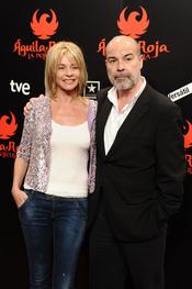 Belén Rueda y Antonio Resines en la premiere de 'Águila Roja'