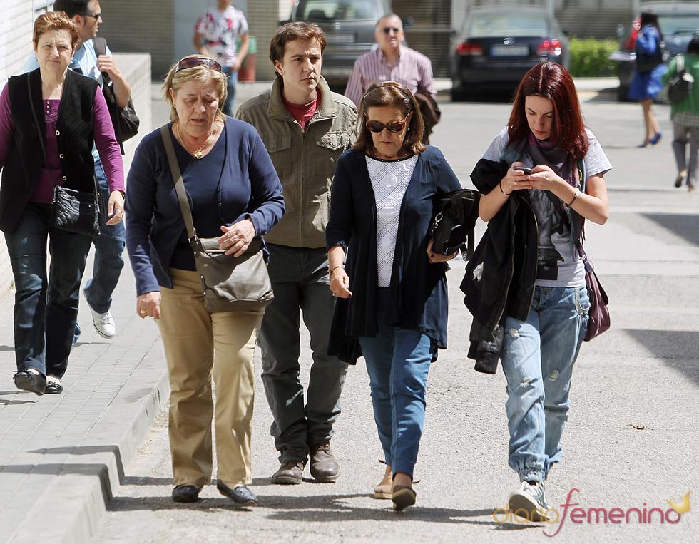 Familiares de Silvia Abascal