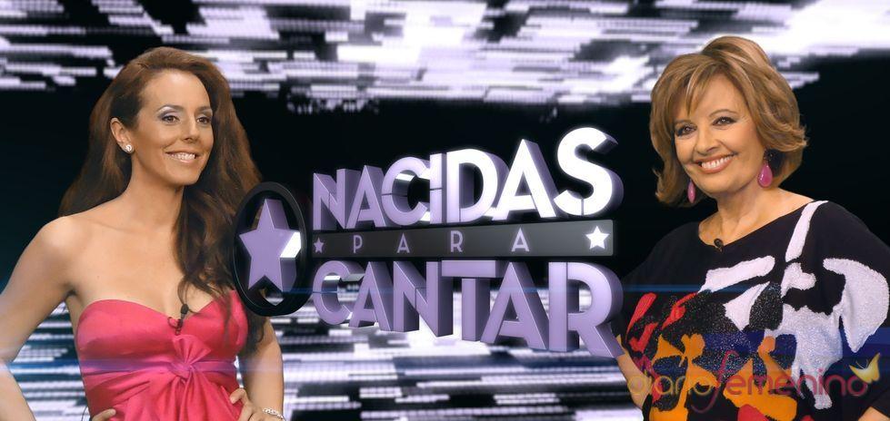 Rocío Carrasco y María Teresa Campos presentan 'Nacidas para cantar'