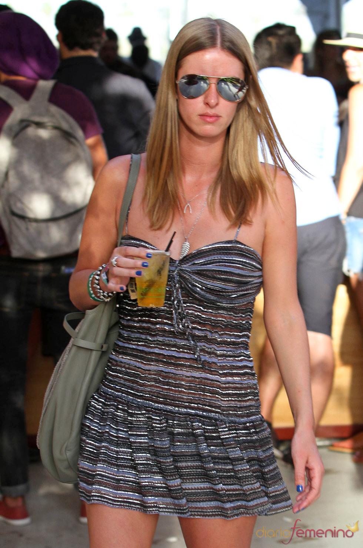 Nicky Hilton en el Festival Coachella 2011